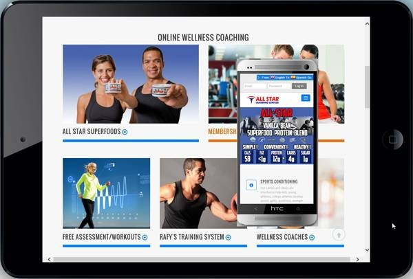 Fitness Web Site Design